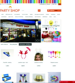 Party Shop spletna trgovina